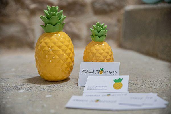 cartes de visites logo ananas